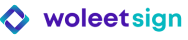 Logo Woleet Sign