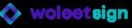 Woleet Sign logo