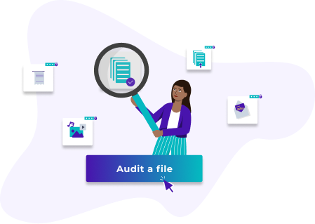 Audit a file with Woleet auditor