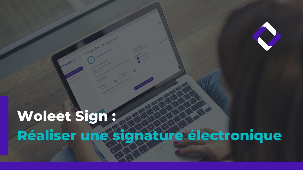 Signer un document en ligne