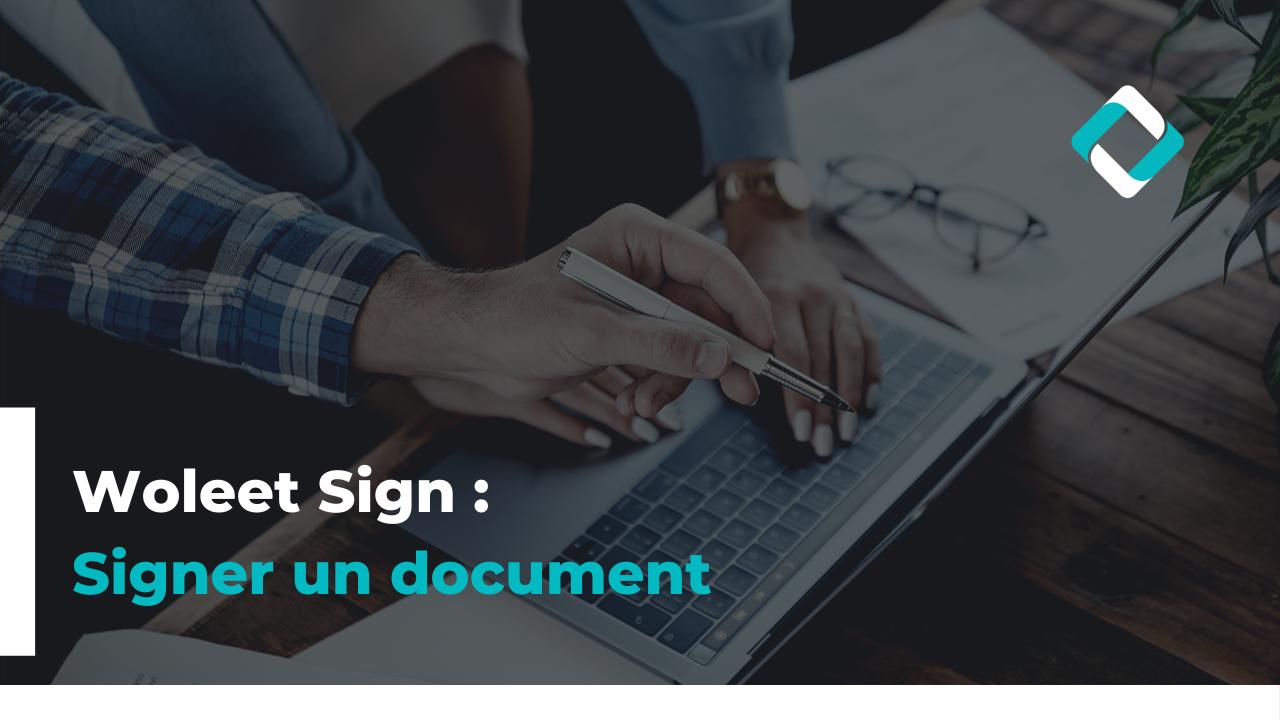 Signer un document