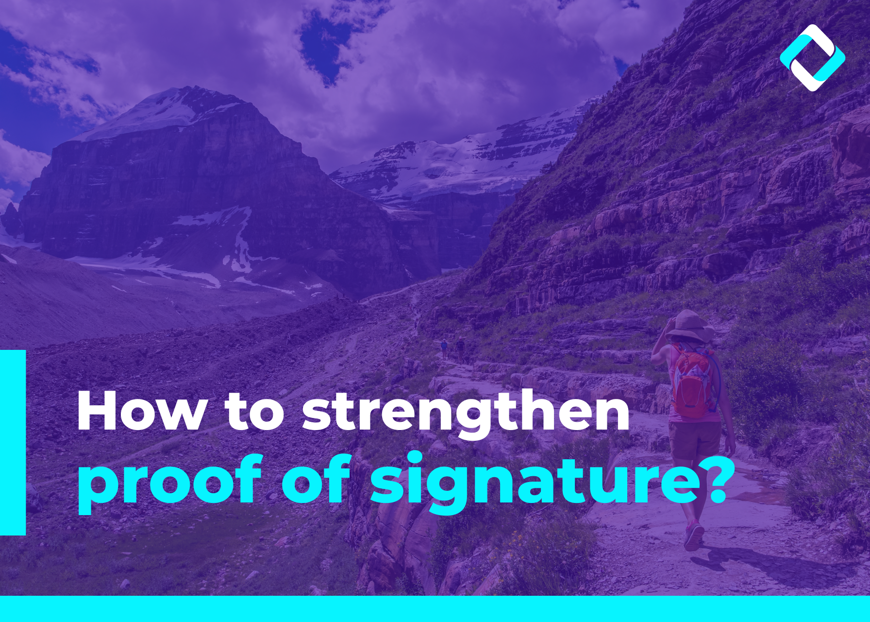 How to strengthen proof of signature?